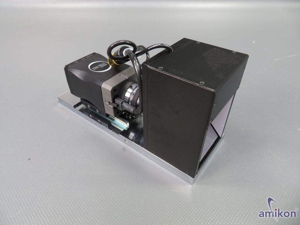 Schott Moritex Beleuchtung MSCL-CR56-B mit Omron code Leser Kamera V400-F050