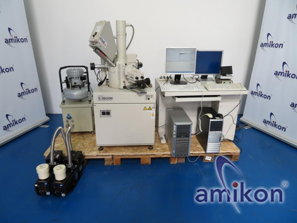 Hitachi S-3500N SEM Scanning Electron Microscope EDAX HIT S-3500N 132-2.5
