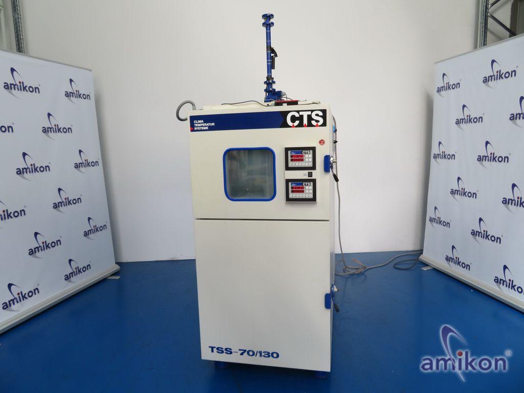 CTS Temperaturschock Prüfschrank TSS-70/130/S +50°C bis +200°C -80°C bis +100°C
