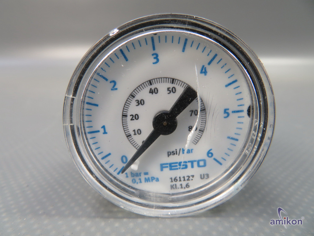 Festo Präzisionsmanometer MAP-40-6-1/8-EN 161127  Hover