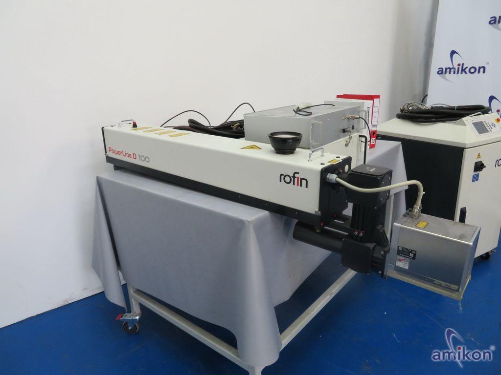 Rofin-Sinar Laser Powerline D- 100 II TEM00 Laser  Hover