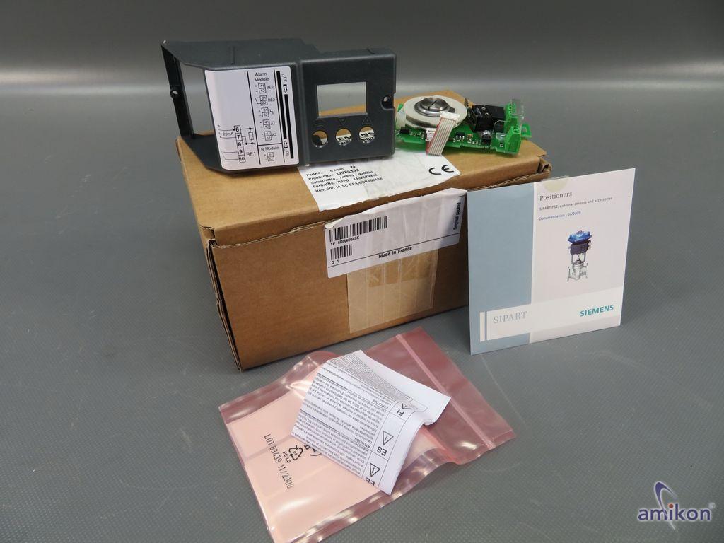 Siemens Grenzwertkontaktmodul 6DR4004-8K 6DR40048K neu !