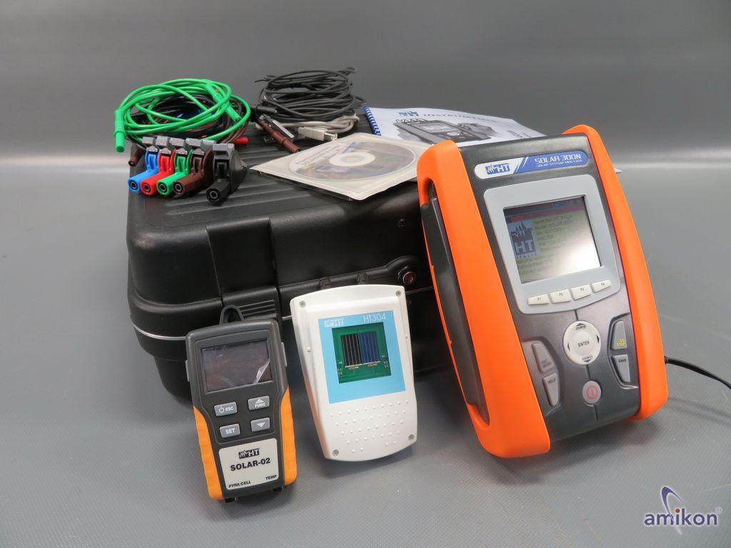 HT Instruments Solar 300 N Kontroll und Analysegerät für Photovoltaikanlagen
