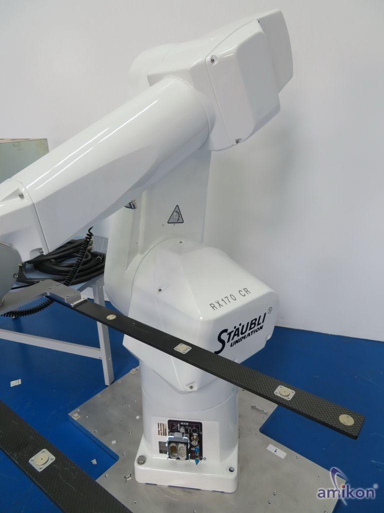 Stäubli Roboter RX170B LCR mit Steuereinheit CS8 M  Hover