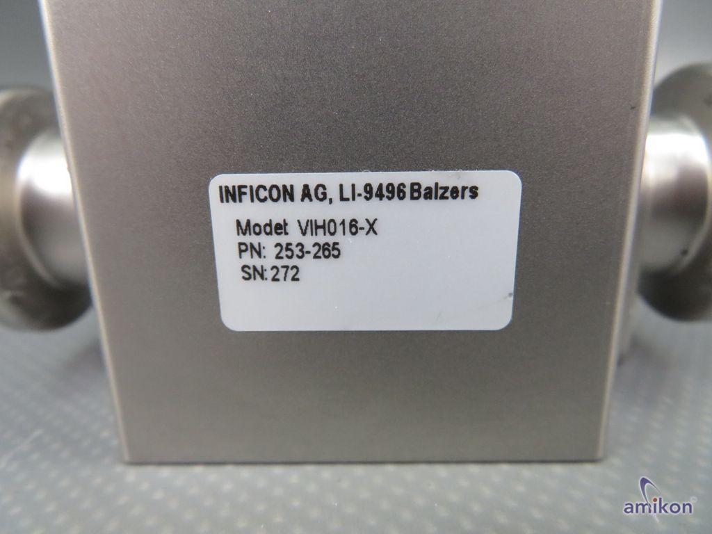 Inficon Eckventil VIH016-X  Hover