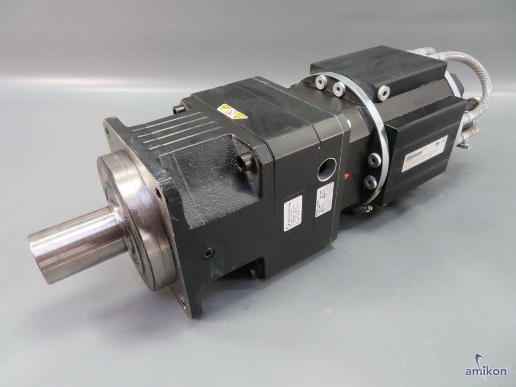 B&R BR Automation Servo Motor 8MSA6X.E1-V4 Rev. D3 mit Stöber Getriebe 2161247