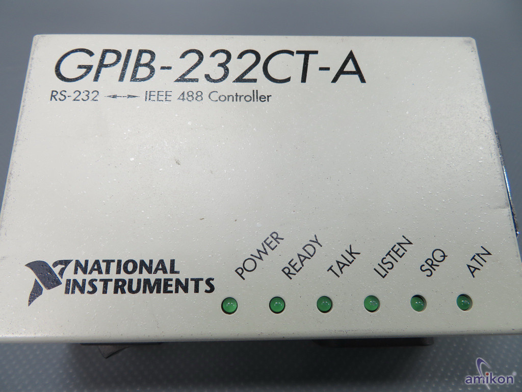 National Instruments GPIB- 232 CT-A Controller  Hover