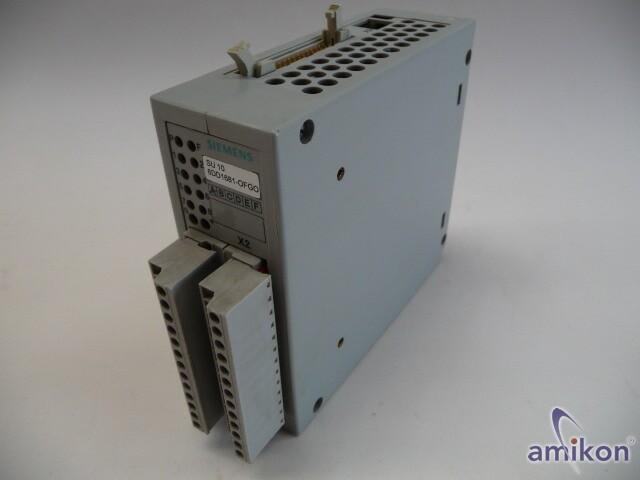 Siemens Simadyn Umsetzer SU10 6DD1681-0FG0