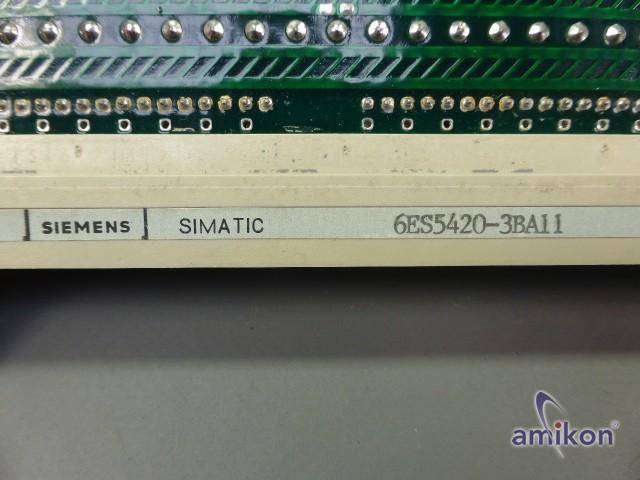 Siemens Simatic S5 Digitaleingabe 6ES5420-3BA11 6 ES 5420-3BA 11  Hover
