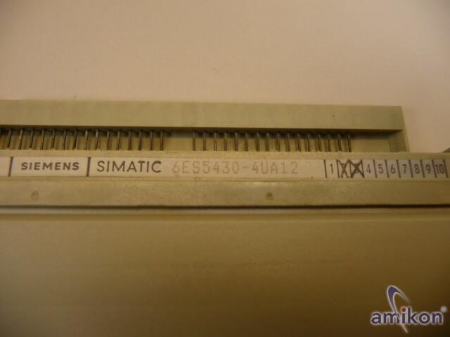 Siemens Simatic S5 Digitaleingabe 6ES5430-4UA12  6ES5 430-4UA12  Hover