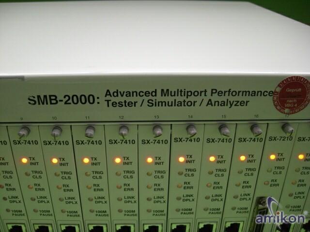 NETCOM SYSTEMS Tester/Simulator/Analyser SMB-2000  Hover