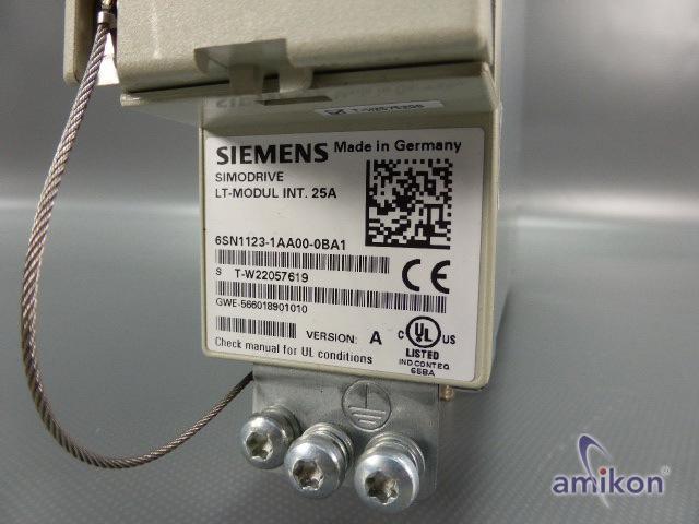 Siemens Simodrive Leitungsmodul 611 6SN1123-1AA00-0BA1 Version: A  Hover