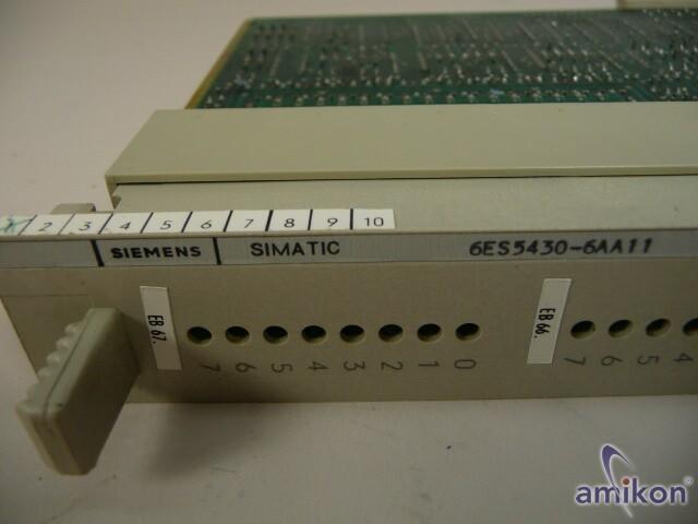 Siemens 6ES5430-6AA11 6ES5 430-6AA11  Hover