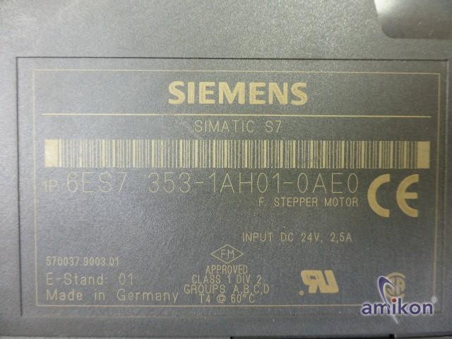 Siemens Simatic S7 Funktionsbaugruppe 6ES7353-1AH01-0AE0 6ES7 353-1AH01-0AE0  Hover
