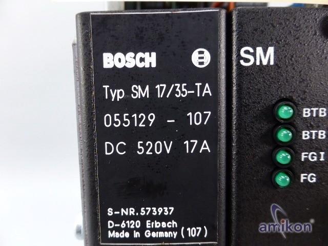 Bosch Servo Modul SM 17/35-TA Nr. 055129-107  Hover