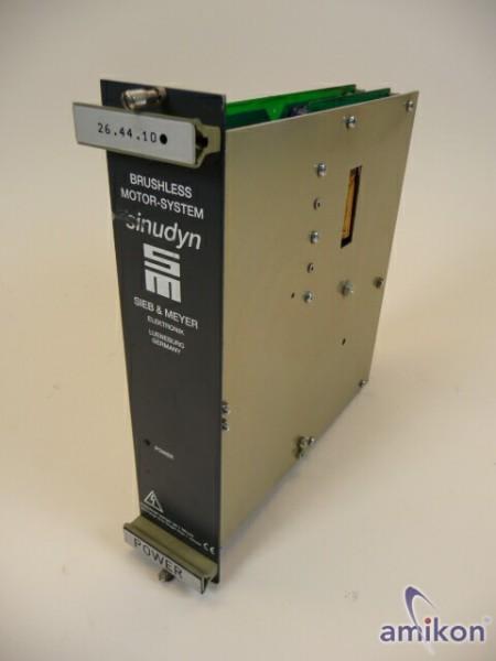 Sieb & Meyer sinudyn  Power-Modul 26.44.10