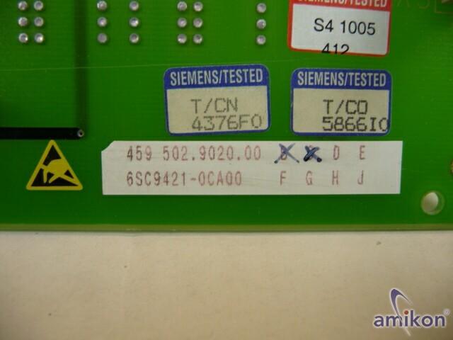 Siemens ISTA2-Baugruppe 6SC9421-0CA00  Hover