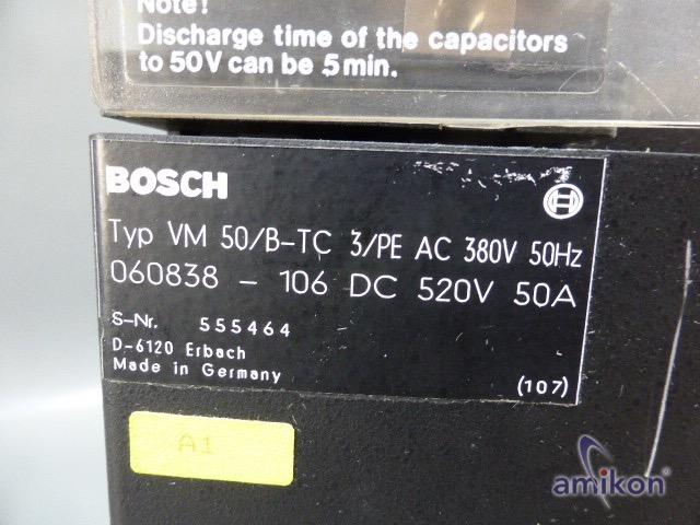 Bosch Versorgungsmodul VM 50/B-TC 060838-106  Hover