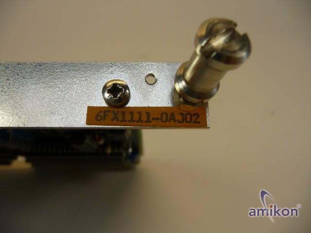 Siemens Sinumerik Sirotec CPU 6FX1111-0AJ02   Hover