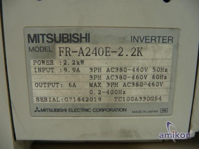 Mitsubishi Inverter FR-A240E-2.2K  Hover