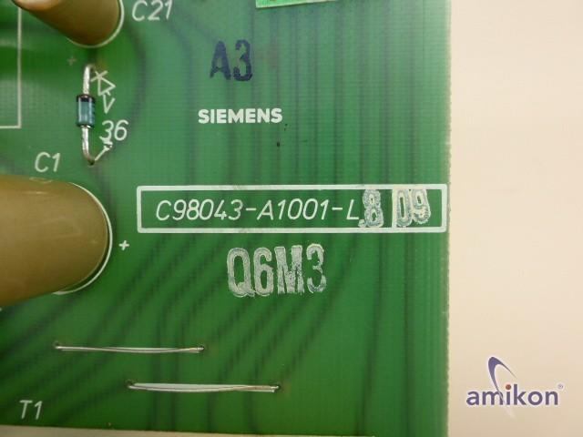 Siemens Simoreg Steuerplatine C98043-A1001-L8-09  Hover