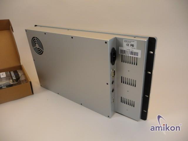 "T-POLE T-POD-121 12.1"" Industrial Monitor Farb TFT 85V-264V AC Input neu !!  Hover"