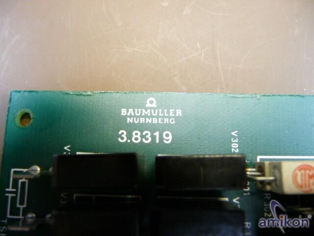 Baumüller Regler Platine Typ: 3.8319  LS  Hover