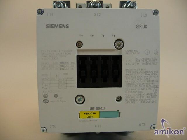 Siemens Schütz 3RT1065-6AP36  Hover