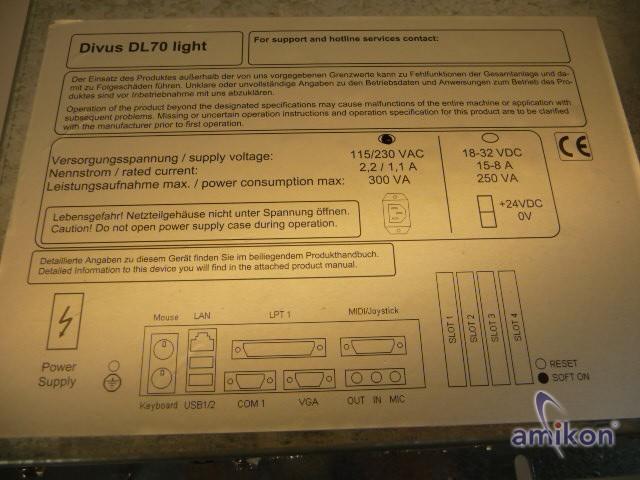Divus Panel PC DL70 light  Hover