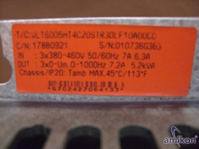 Danfoss VLT6005HT4C20STR3DLF10A00C0  Hover