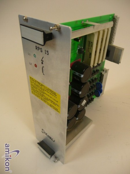 Stäubli Stromversorgung RPS 15 D 121 395 01A