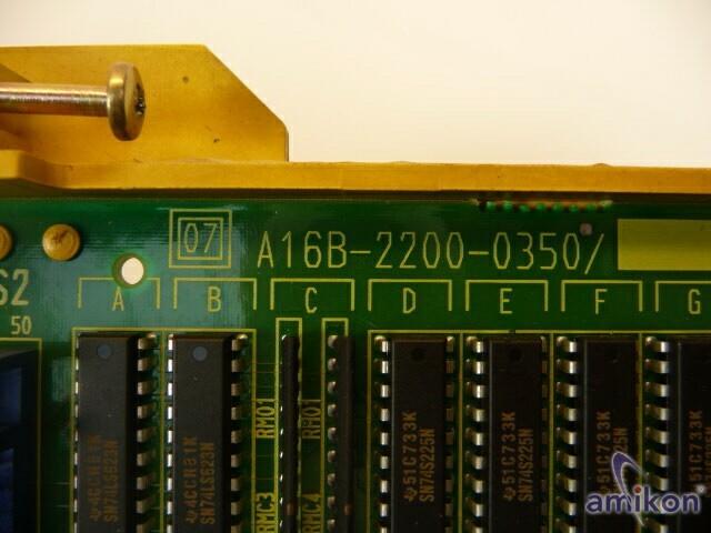 Fanuc PC Board A16B-2200-0350 A16B22000350  Hover