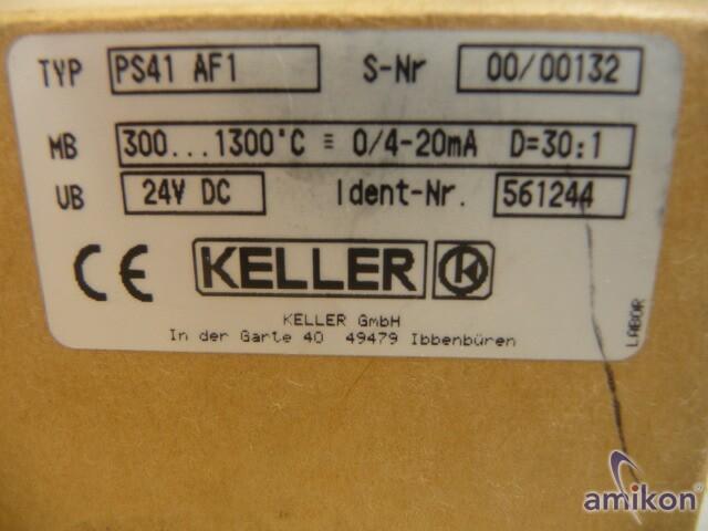 Keller Pyrometer Sensor+Anzeigegerät 300-1300°C  Hover