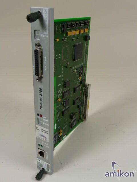 Bosch Rexroth Indramat CPU 1070080132-103 COM-E