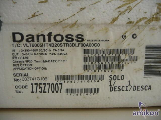 Danfoss VLT6005HT VLT6005HT4B20STR3DLF00A00C0 neu !  Hover