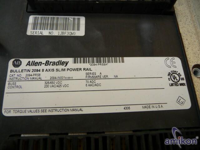 Allen-Bradley 2094 8 Axis Slim Power Rail  Hover