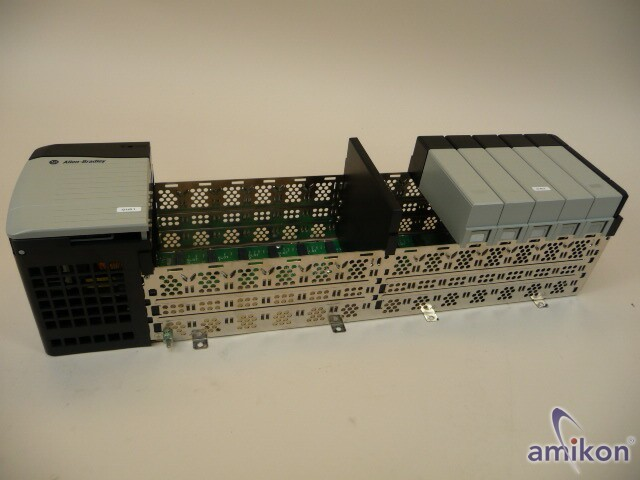 Allen-Bradley Chassis 13 Slot 1756-A13+Power Supply 1756-PA72/C