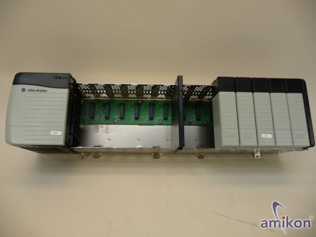 Allen-Bradley Chassis 13 Slot 1756-A13+Power Supply 1756-PA72/C  Hover