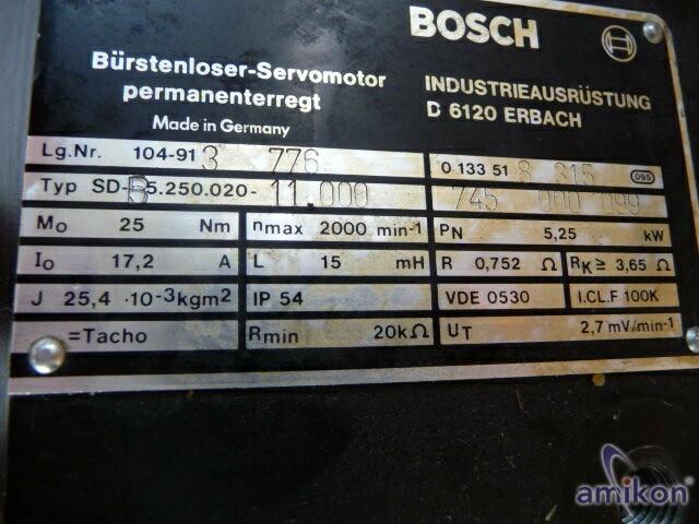 Bosch Bürstenloser Servomotor SD-B5.250.020-11.000  Hover