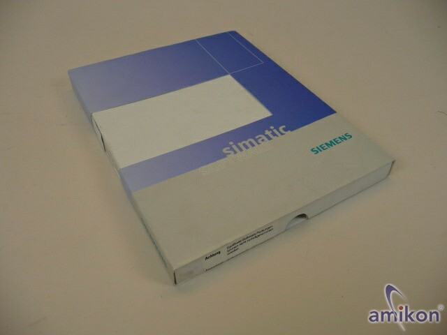 Siemens Simatic S7 Software Single License 6DD1801-4DA8