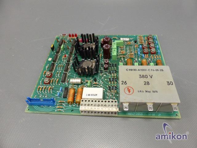 Siemens Simoreg Steuerplatine C98043-A1045-L1-27  Hover
