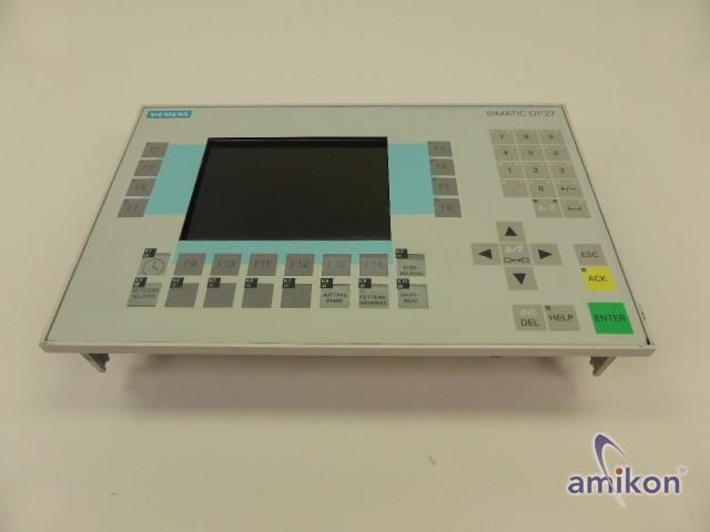 Simens Simatic OP27 Mono 6AV3627-1JK00-0AX0 627-1JK00-0AX0 E-Stand: A05