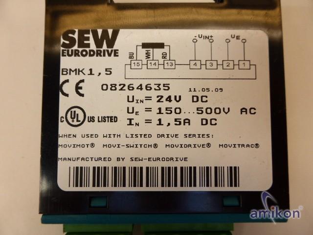 SEW-Eurodrive Bremsgleichrichter BMK 1,5 08264635  Hover