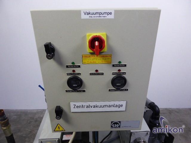 Leybold Zentral-Vakuumanlage Behälter-Volumen: 150 l  Hover