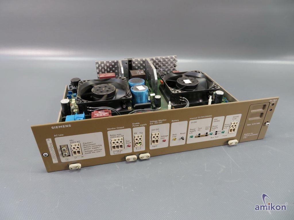 Siemens Simatic S5 Stromversorgung 6ES5955-3LC14 6ES5 955-3LC14