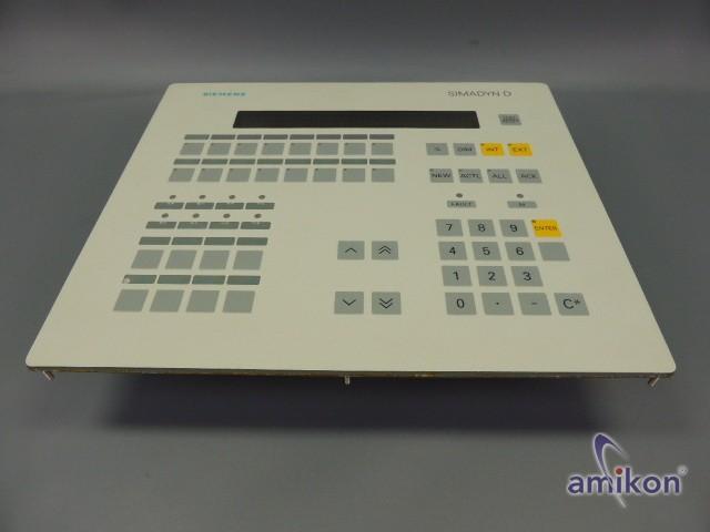 Siemens Simadyn Bediengerät OP1 6DD1670-0AF0 E-Stand: K