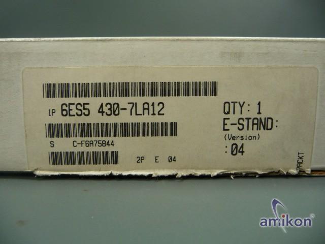 Siemens Simatic S5 Digitaleingabe 6ES5 430-7LA12 6ES5430-7LA12 E-Stand: 04 neu!!  Hover
