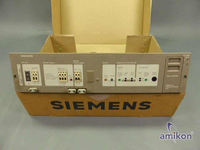 Siemens Simatic S5 Stromversorgung 6ES5955-3NA11  Hover