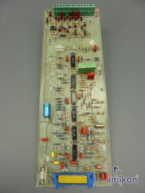 Baumüller Regler Platine Typ: 3.7806 C 37806