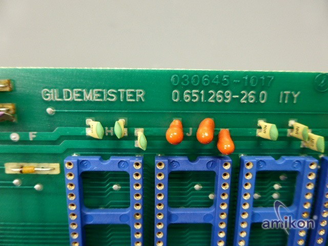 Gildemeister Control Card 0.651.269-26.0 ITY  Hover